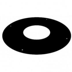Rosace plate noire